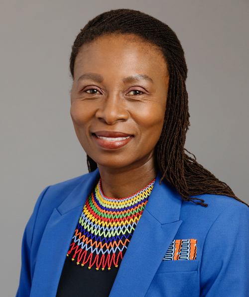 headshot of vice provost mabokela